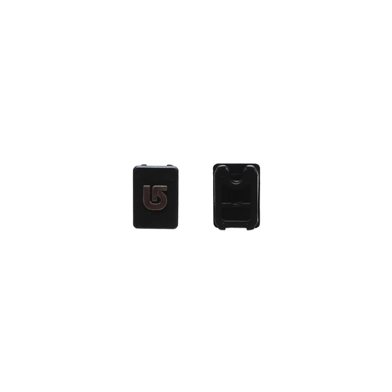 M6 CHANNEL PLUGS BLACK
