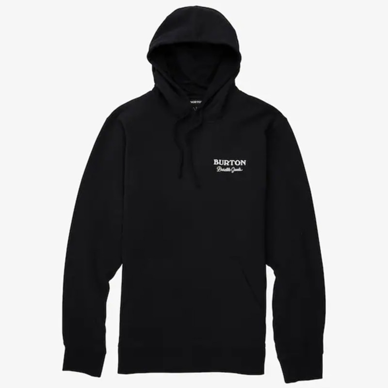 2122 버튼 BURTON DURABLE GOODS PULLOVER HOODIE True Black