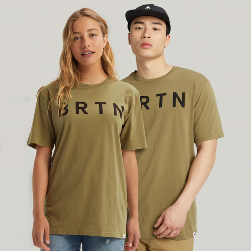 2122 버튼 BURTON BRTN SHORT SLEEVE T-SHIRT Martini Olive